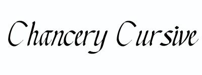 chancerycursive