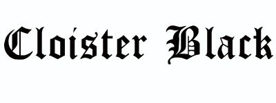 cloisterblack