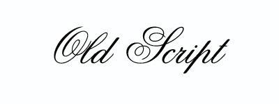 oldscript